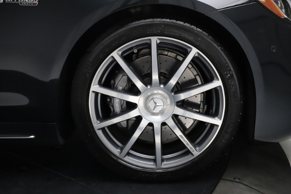 Used 2019 Mercedes-Benz S-Class AMG S 63 for sale $122,900 at Aston Martin of Greenwich in Greenwich CT 06830 26