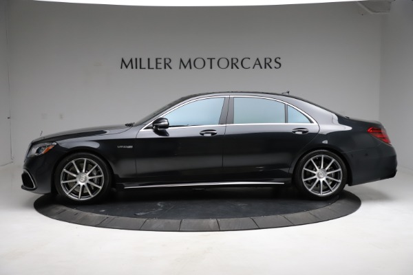 Used 2019 Mercedes-Benz S-Class AMG S 63 for sale $122,900 at Aston Martin of Greenwich in Greenwich CT 06830 4