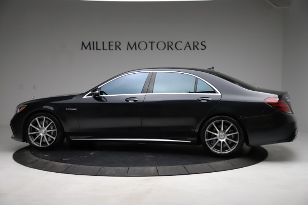 Used 2019 Mercedes-Benz S-Class AMG S 63 for sale $122,900 at Aston Martin of Greenwich in Greenwich CT 06830 5