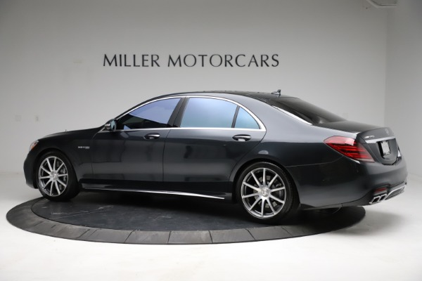 Used 2019 Mercedes-Benz S-Class AMG S 63 for sale $122,900 at Aston Martin of Greenwich in Greenwich CT 06830 6