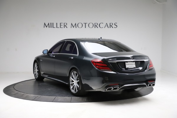 Used 2019 Mercedes-Benz S-Class AMG S 63 for sale $122,900 at Aston Martin of Greenwich in Greenwich CT 06830 8