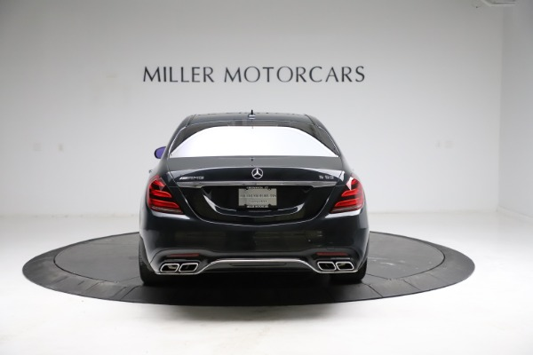 Used 2019 Mercedes-Benz S-Class AMG S 63 for sale $122,900 at Aston Martin of Greenwich in Greenwich CT 06830 9