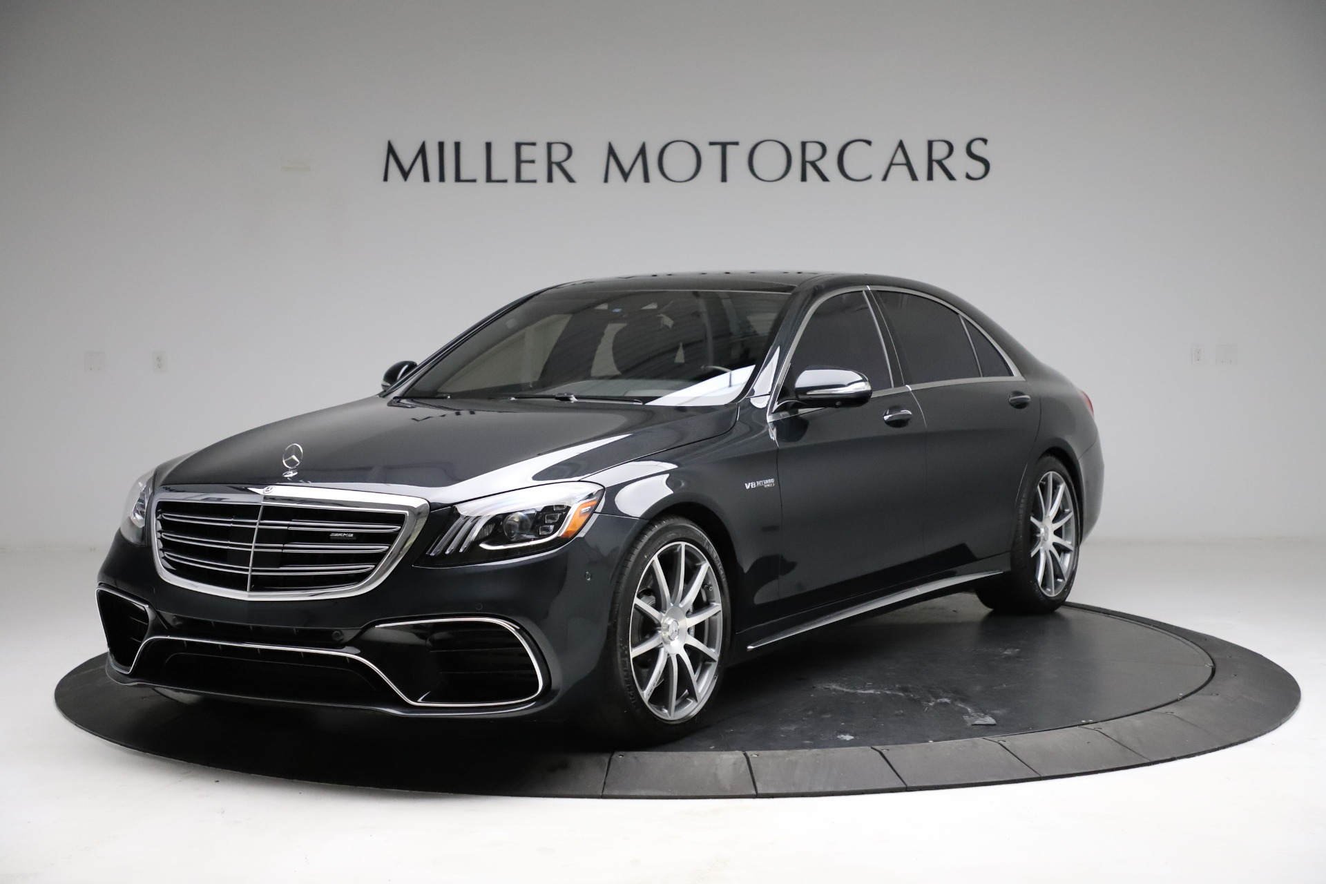 Used 2019 Mercedes-Benz S-Class AMG S 63 for sale $122,900 at Aston Martin of Greenwich in Greenwich CT 06830 1