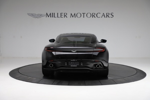 Used 2018 Aston Martin DB11 V12 for sale $159,990 at Aston Martin of Greenwich in Greenwich CT 06830 5