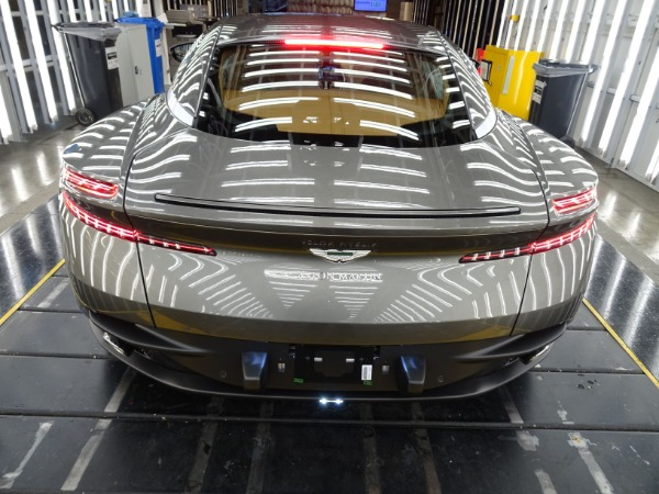 New 2021 Aston Martin DB11 V8 for sale $240,886 at Aston Martin of Greenwich in Greenwich CT 06830 3