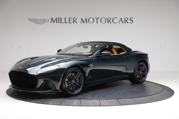 New 2021 Aston Martin DBS Superleggera Volante for sale $392,916 at Aston Martin of Greenwich in Greenwich CT 06830 13