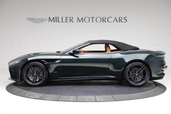New 2021 Aston Martin DBS Superleggera Volante for sale $392,916 at Aston Martin of Greenwich in Greenwich CT 06830 14