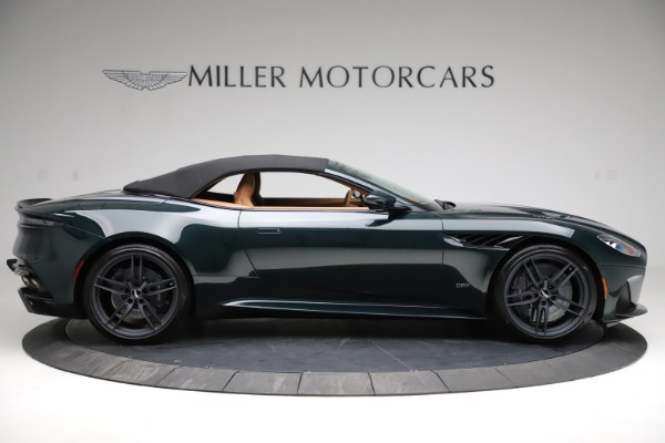 New 2021 Aston Martin DBS Superleggera Volante for sale $392,916 at Aston Martin of Greenwich in Greenwich CT 06830 15