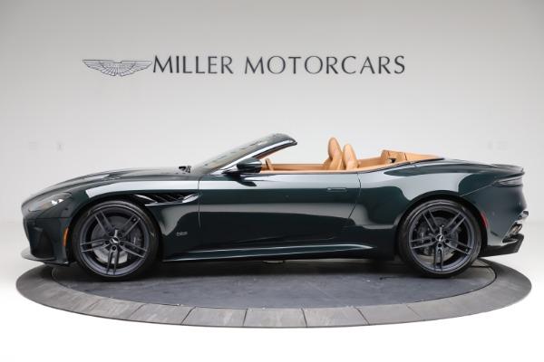 New 2021 Aston Martin DBS Superleggera Volante for sale $392,916 at Aston Martin of Greenwich in Greenwich CT 06830 2