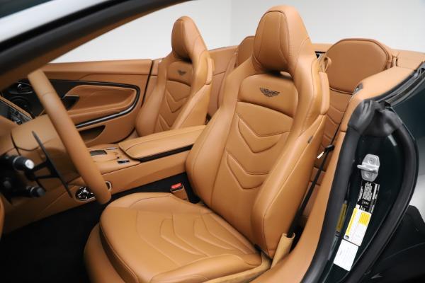 New 2021 Aston Martin DBS Superleggera Volante for sale $392,916 at Aston Martin of Greenwich in Greenwich CT 06830 20