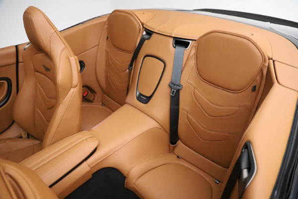New 2021 Aston Martin DBS Superleggera Volante for sale $392,916 at Aston Martin of Greenwich in Greenwich CT 06830 21