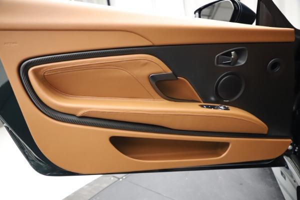 New 2021 Aston Martin DBS Superleggera Volante for sale $392,916 at Aston Martin of Greenwich in Greenwich CT 06830 22