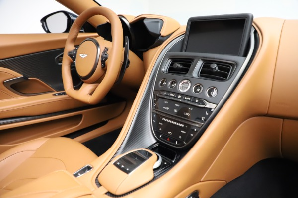 New 2021 Aston Martin DBS Superleggera Volante for sale $392,916 at Aston Martin of Greenwich in Greenwich CT 06830 23
