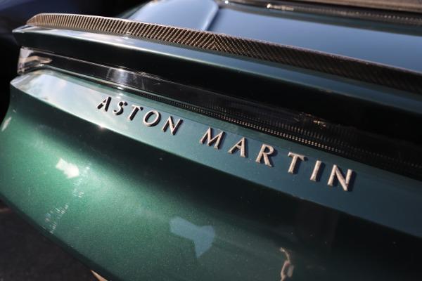 New 2021 Aston Martin DBS Superleggera Volante for sale $392,916 at Aston Martin of Greenwich in Greenwich CT 06830 28