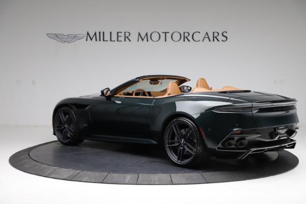 New 2021 Aston Martin DBS Superleggera Volante for sale $392,916 at Aston Martin of Greenwich in Greenwich CT 06830 3