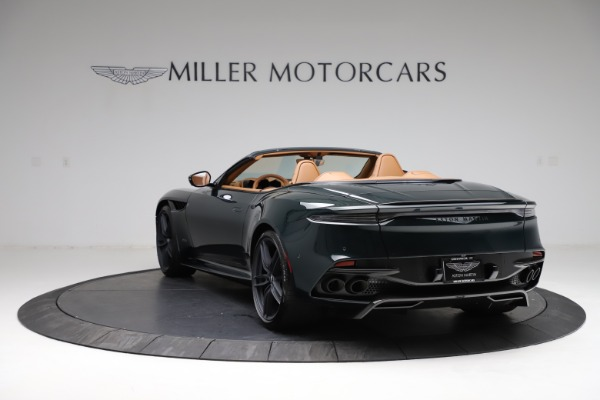 New 2021 Aston Martin DBS Superleggera Volante for sale $392,916 at Aston Martin of Greenwich in Greenwich CT 06830 4