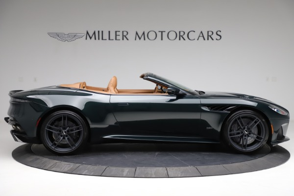 New 2021 Aston Martin DBS Superleggera Volante for sale $392,916 at Aston Martin of Greenwich in Greenwich CT 06830 8