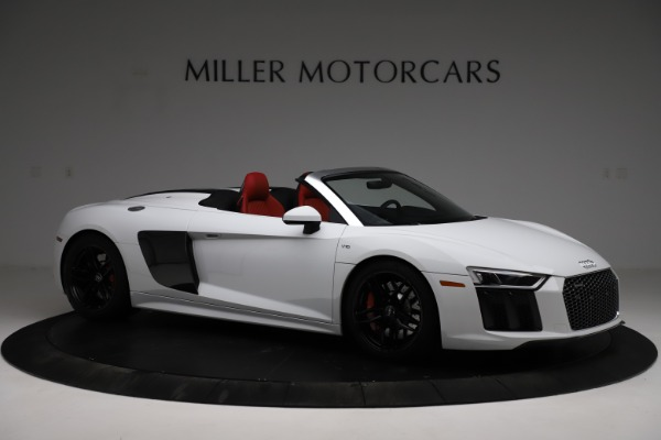 Used 2018 Audi R8 Spyder for sale $154,900 at Aston Martin of Greenwich in Greenwich CT 06830 10