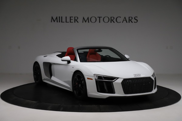 Used 2018 Audi R8 Spyder for sale $154,900 at Aston Martin of Greenwich in Greenwich CT 06830 11
