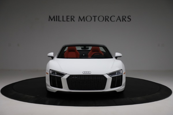 Used 2018 Audi R8 Spyder for sale $154,900 at Aston Martin of Greenwich in Greenwich CT 06830 12