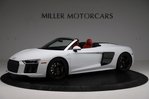 Used 2018 Audi R8 Spyder for sale $154,900 at Aston Martin of Greenwich in Greenwich CT 06830 2
