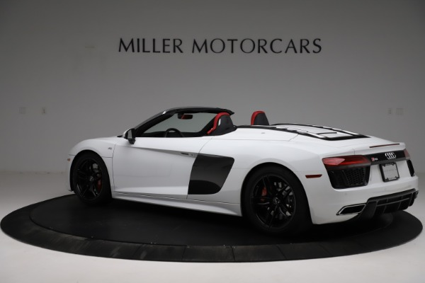 Used 2018 Audi R8 Spyder for sale $154,900 at Aston Martin of Greenwich in Greenwich CT 06830 4