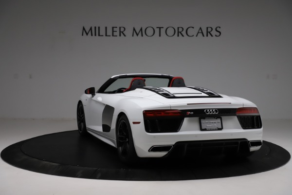 Used 2018 Audi R8 Spyder for sale $154,900 at Aston Martin of Greenwich in Greenwich CT 06830 5