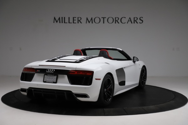 Used 2018 Audi R8 Spyder for sale $154,900 at Aston Martin of Greenwich in Greenwich CT 06830 7