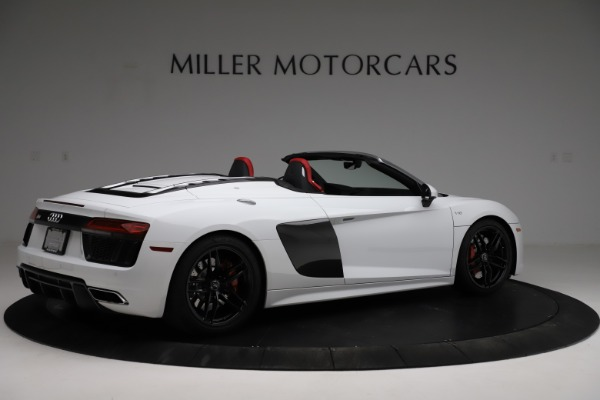 Used 2018 Audi R8 Spyder for sale $154,900 at Aston Martin of Greenwich in Greenwich CT 06830 8