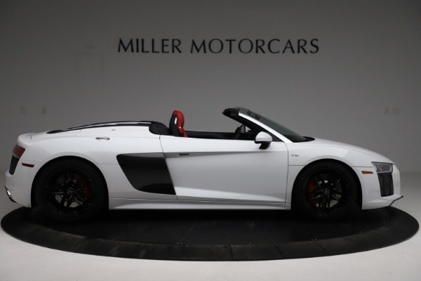 Used 2018 Audi R8 Spyder for sale $154,900 at Aston Martin of Greenwich in Greenwich CT 06830 9