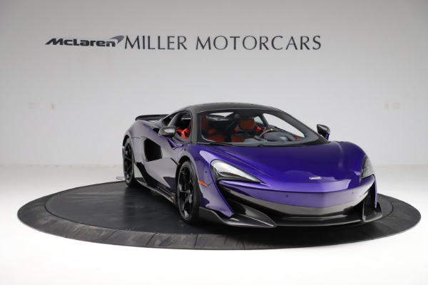 Used 2019 McLaren 600LT for sale $234,900 at Aston Martin of Greenwich in Greenwich CT 06830 10