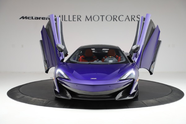 Used 2019 McLaren 600LT for sale $234,900 at Aston Martin of Greenwich in Greenwich CT 06830 12
