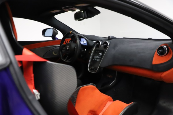 Used 2019 McLaren 600LT for sale $234,900 at Aston Martin of Greenwich in Greenwich CT 06830 19