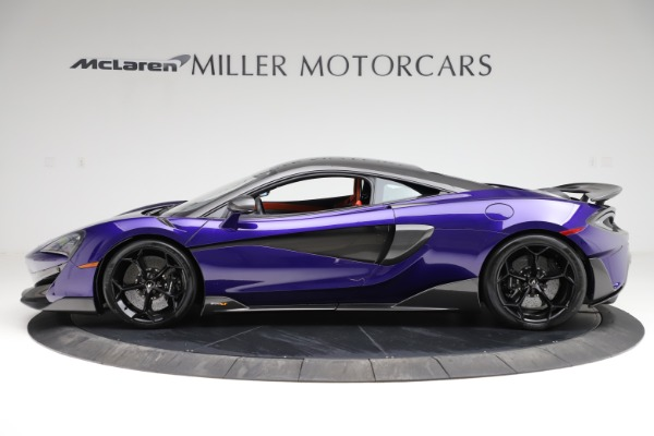 Used 2019 McLaren 600LT for sale $234,900 at Aston Martin of Greenwich in Greenwich CT 06830 2