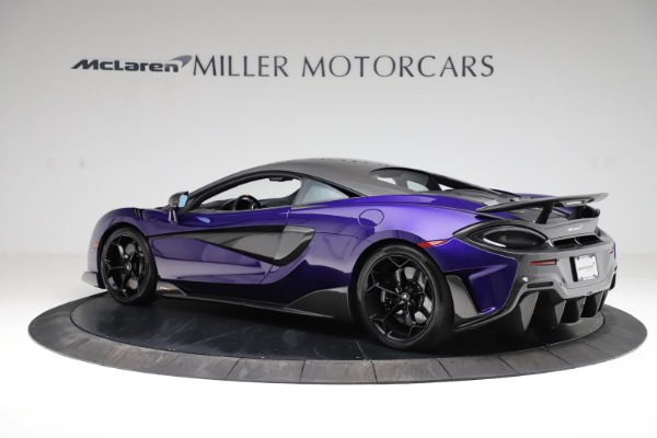 Used 2019 McLaren 600LT for sale $234,900 at Aston Martin of Greenwich in Greenwich CT 06830 3