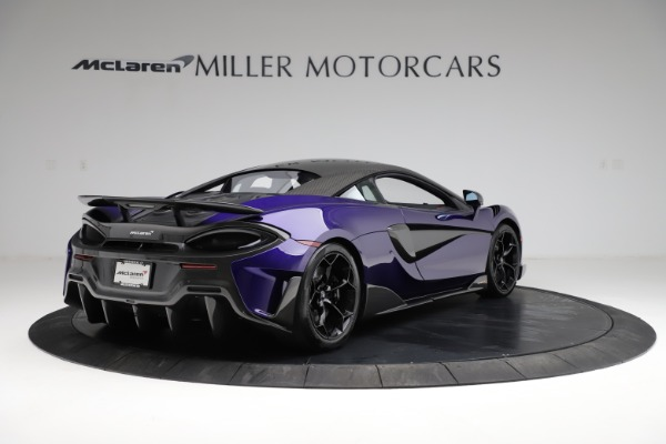 Used 2019 McLaren 600LT for sale $234,900 at Aston Martin of Greenwich in Greenwich CT 06830 6
