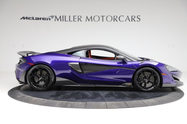 Used 2019 McLaren 600LT for sale $234,900 at Aston Martin of Greenwich in Greenwich CT 06830 8