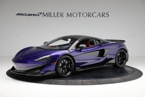 Used 2019 McLaren 600LT for sale $234,900 at Aston Martin of Greenwich in Greenwich CT 06830 1