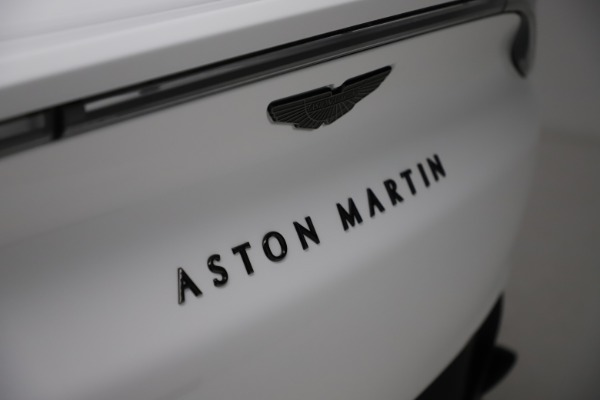 New 2021 Aston Martin DBX for sale $210,386 at Aston Martin of Greenwich in Greenwich CT 06830 24