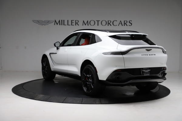 New 2021 Aston Martin DBX for sale $210,386 at Aston Martin of Greenwich in Greenwich CT 06830 4