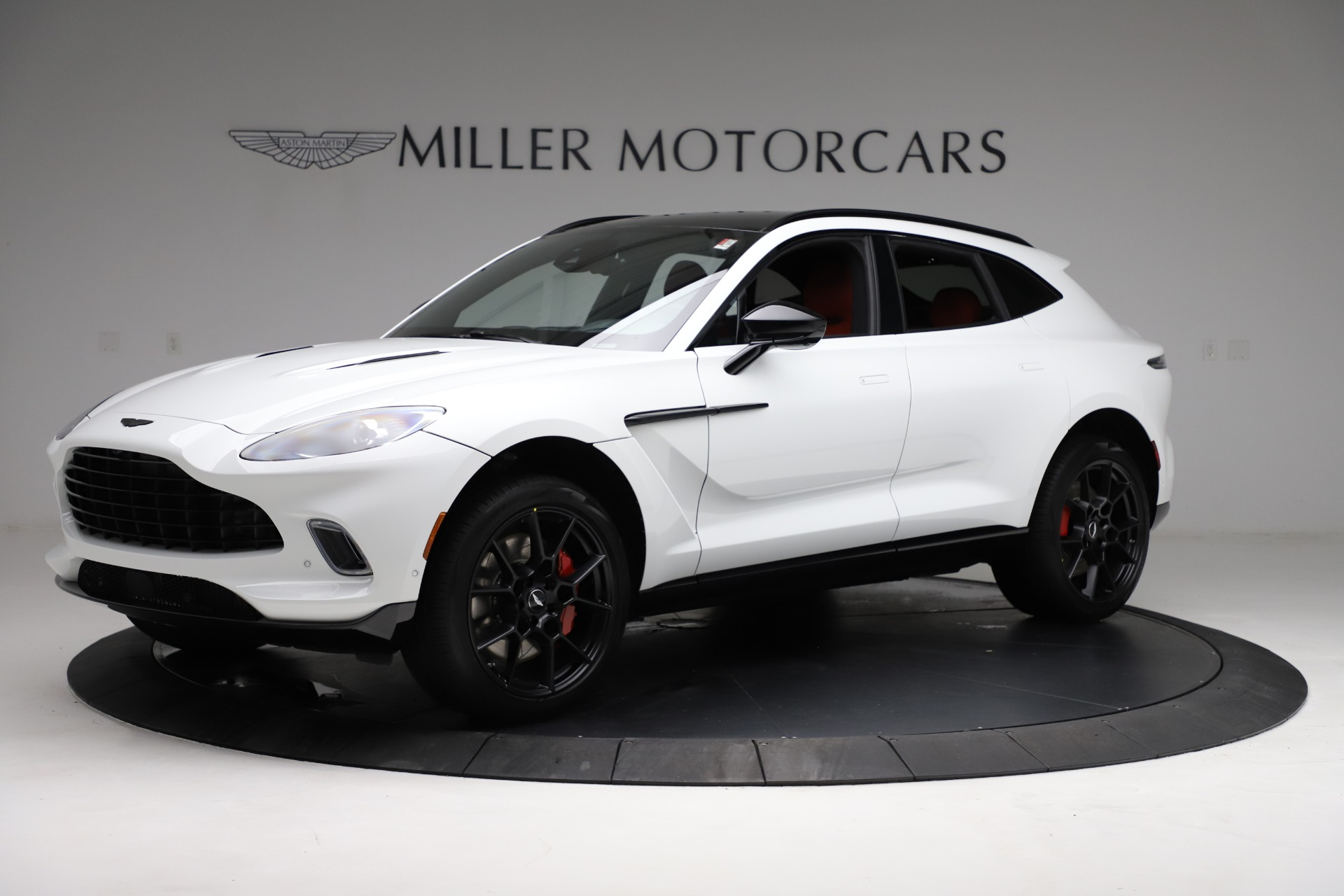 New 2021 Aston Martin DBX for sale $210,386 at Aston Martin of Greenwich in Greenwich CT 06830 1