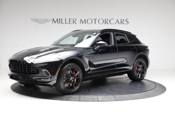 New 2021 Aston Martin DBX for sale $206,286 at Aston Martin of Greenwich in Greenwich CT 06830 1