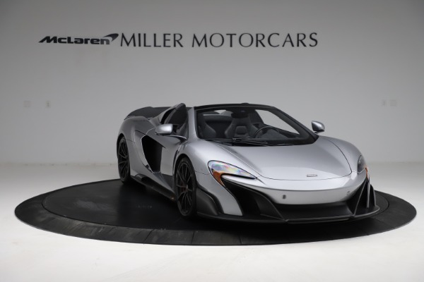 Used 2016 McLaren 675LT Spider for sale $275,900 at Aston Martin of Greenwich in Greenwich CT 06830 10