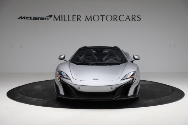 Used 2016 McLaren 675LT Spider for sale $275,900 at Aston Martin of Greenwich in Greenwich CT 06830 11