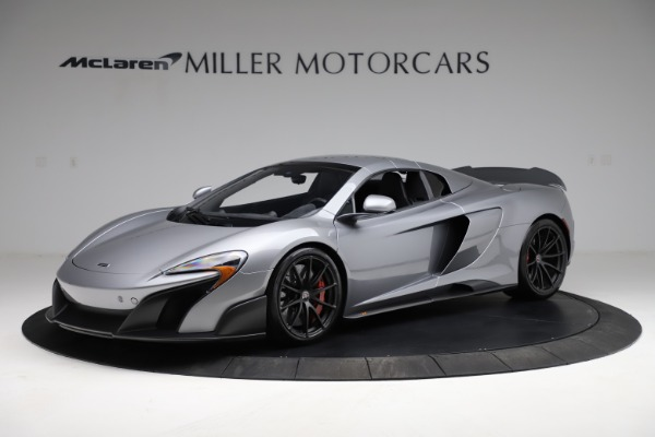 Used 2016 McLaren 675LT Spider for sale $275,900 at Aston Martin of Greenwich in Greenwich CT 06830 14