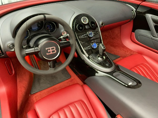 Used 2013 Bugatti Veyron 16.4 Grand Sport Vitesse for sale Call for price at Aston Martin of Greenwich in Greenwich CT 06830 20