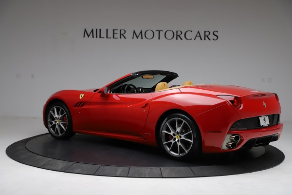 Used 2010 Ferrari California for sale Sold at Aston Martin of Greenwich in Greenwich CT 06830 4