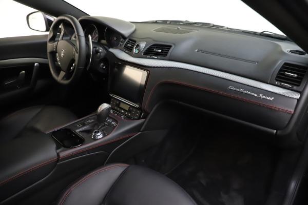 Used 2018 Maserati GranTurismo Sport for sale $89,900 at Aston Martin of Greenwich in Greenwich CT 06830 18