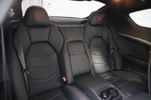 Used 2018 Maserati GranTurismo Sport for sale $89,900 at Aston Martin of Greenwich in Greenwich CT 06830 22