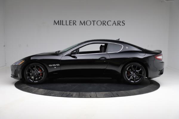 Used 2018 Maserati GranTurismo Sport for sale $89,900 at Aston Martin of Greenwich in Greenwich CT 06830 3